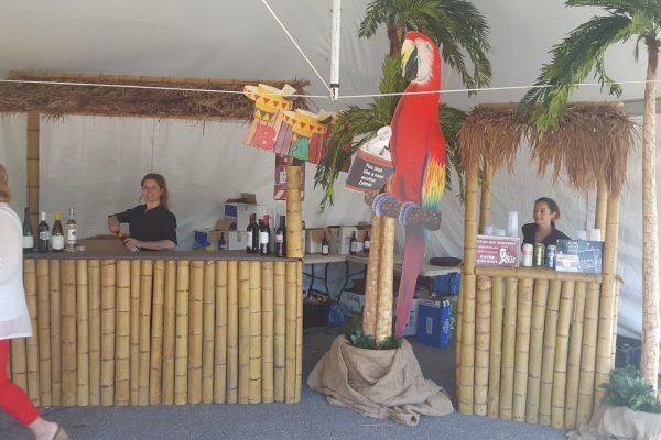 Bar en bamboo