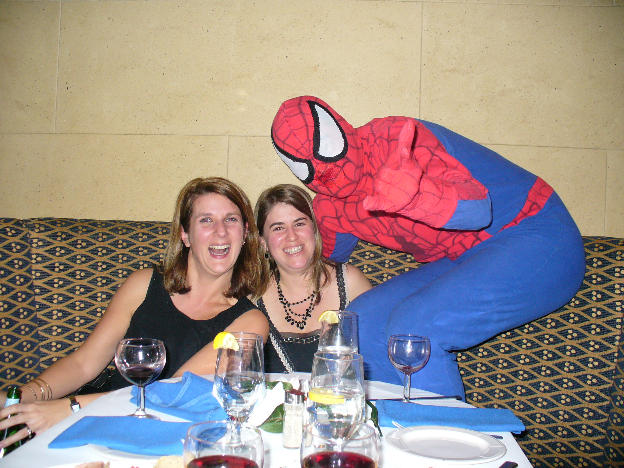 Spiderman et cliente