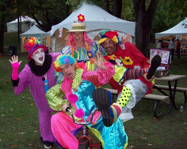 Clowns bonheurs