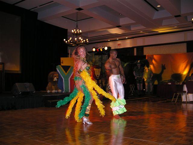 couple de danseur Salsa Bresil